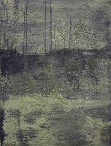 Landschaft im Dunkeln